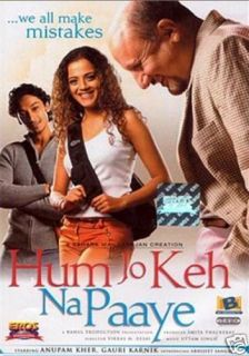 Hum Jo KEH NA Paaye Hindi Movie DVD Anupam Kher