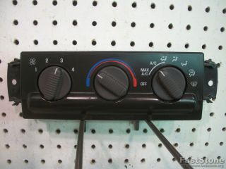 Heater Control Panel AC Air Conditioning Chevy GMC S10 Sonoma Interior