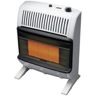 20K Vent Free Infra Red Propane Wall Space Heater Ashly