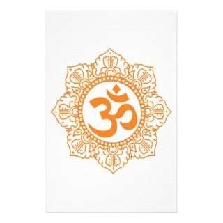 Om   Ohm   Aum Symbol Customized Stationery