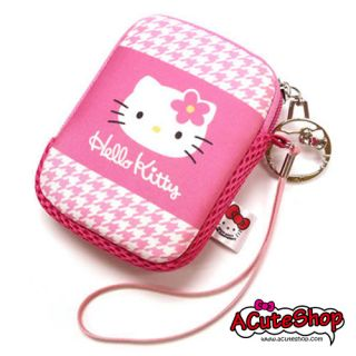 Hello Kitty Camera Case Phone Pouch w String 35th Year