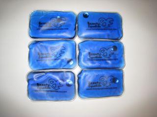 Blue New Reusable Heat Gel Packs Hand Warmers Pads Bags 4x6 10cm x