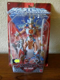 HE MAN ACTION FIGURE SAAMURAI WARRIOR WEAPONS COLLECTOR TOY NEW N PACK