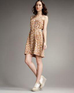 MARC by Marc Jacobs Leopard Print Dress