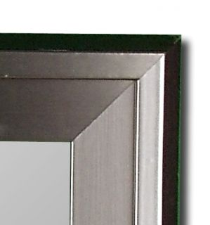 Stainless Large Wall Mirror Decor Made in USA Hitchcock Butterfield