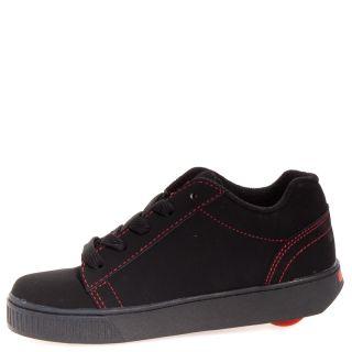 Heelys Straight Up Canvas Casual Boy Girls Kids Shoes Sz 3