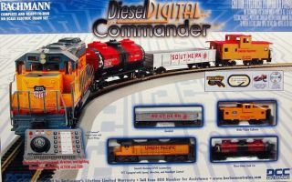 Bachmann HO Scale Train Set Digital Diesel Commander Union Pacific