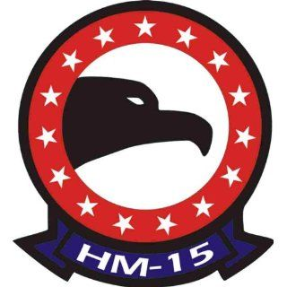 US Navy HM 15 Squadron Decal Sticker 3.8    Automotive