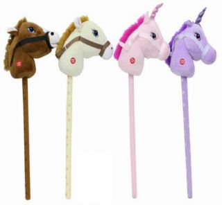 Fantasy Hobby Horse Unicorn with Sound Childrens Kids Play Toy Pony on