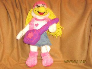 Chuck E Cheese Plush Helen Hen Doll 12 Guitar Limited 2010 Chicken