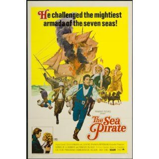 Sea Pirate 1967 Original U.S. One Sheet Poster Folded 27
