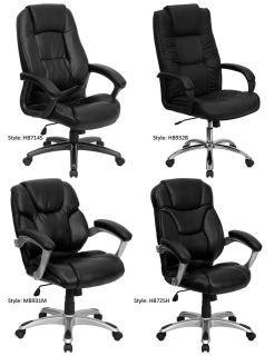 Office Home Office Furniture Padded Leather Arm Chairs