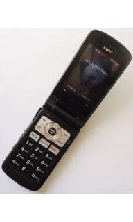 SANYO SCP 3810 MIRRO SPRINT CELL PHONE + HOME CHARGR *PR* (BLACK)