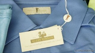 New w Tags Harry Vardon Golf Polo Shirt Mens Multiple Colors Sizes I