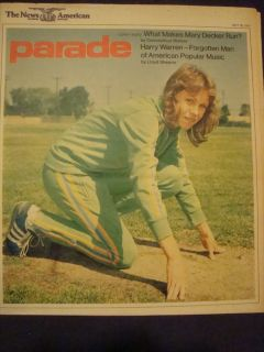 Magazine Mary Decker Harry Warren Cybill Shepherd May 26 1974