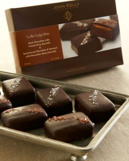 John Kelly Chocolates Eight Piece Assorted Fudge Bites