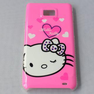 Hello Kitty Cartoon Skin Case Cover For Samsung Galaxy S2 i9100