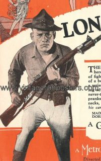 Lon Chaney Orig Mint 1926 Herald Tell It to The Marines