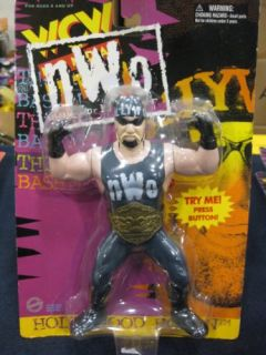 Hollywood Hulk Hogan NWO Wrestling Action Figure WWF WWE WCW
