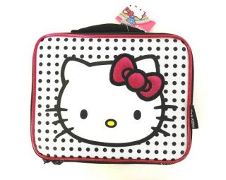 Sanrio Hello Kitty Insulated School Lunchbox Lunch Bag Girls Christmas