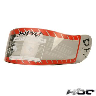 KBC Helmet Shield Light Smoke Visor for VR 1 TK 8 FFR