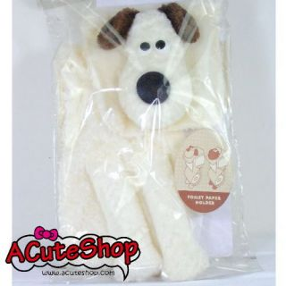 Wallace Gromit Plush Toilet Paper Roll Tissue Holder New