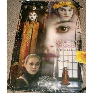 NATALIE PORTMAN STAR WARS AUTOGRAPHED SIGNED POSTER WITH