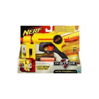 Hasbro Nerf N Strike Nite Finder EX 3 Dart Gun Shooter Blaster Toy w
