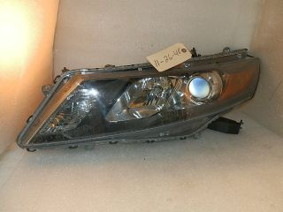 2010 2011 2012 Honda Accord Crosstour Factory Left Projector Headlight