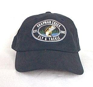 Chapman Creek Bass Fishing Ball Cap Hat Microfiber