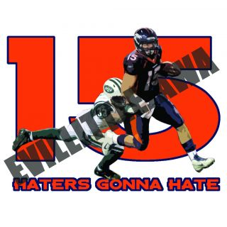 Tim Tebow Haters Gonna Hate T Shirt s XXL Denver Broncos Florida