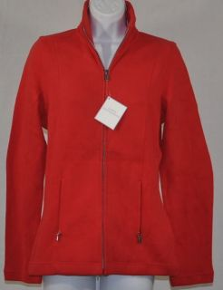 NWT Womens Lady Hathaway Full Zip Jacket Sz Med Aqua Blue