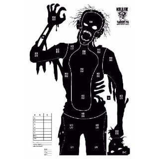 Pack Zombie Targets (Patient Zero) 23 x 35 Inches: Sports & Outdoors