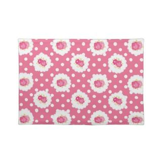 Pink Shabby Style Chic Country Placemats