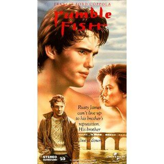 Rumble Fish [VHS] Matt Dillon, Mickey Rourke, Diane Lane