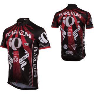 Izumi 2012 Mens Elite Cycling Bike Jersey Honor True Red S