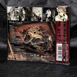 Versailles Holy Grail CD Plus DVD Limited Edition Japan Visual Music