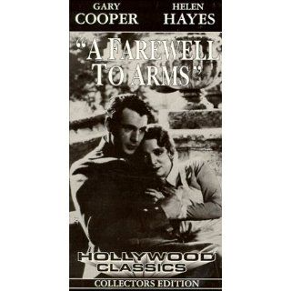 Farewell to Arms [VHS] Gary Cooper, Helen Hayes, Adolphe