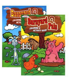 KAPPA Barnyard Pals Coloring and Activity Book, Multi