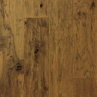 Hand Scraped Suede Hickory Hardwood Flooring Wood Floor