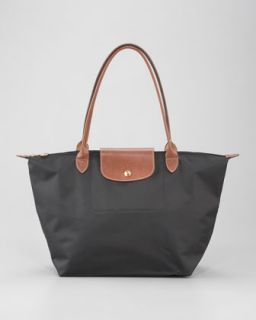 V16UT Longchamp Le Pliage Large Shoulder Tote Bag, Classic Colors