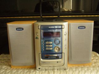 Aiwa Home Stereo System in Good Condition