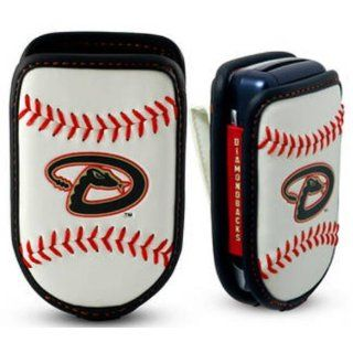 Game Wear Leather Cell Phone Holder   Arizona Diamondbacks