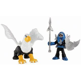 Fisher Price Imaginext Eagle Talon Castle Knight and