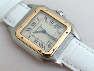 Authentic Ladies CARTIER Panthere Wrist Watch. Nice Condition. Good