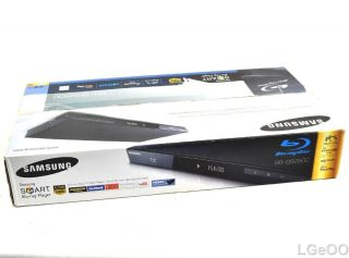 Samsung BD D5250C Smart Blu ray DVD Disc Player Wi Fi Ready HDMI