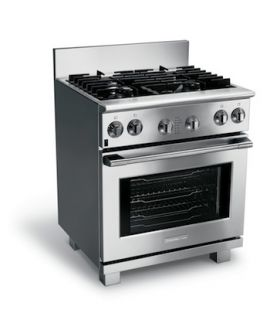 Professional 30 inch Freestanding Dual Fuel Range E30DF74GPS