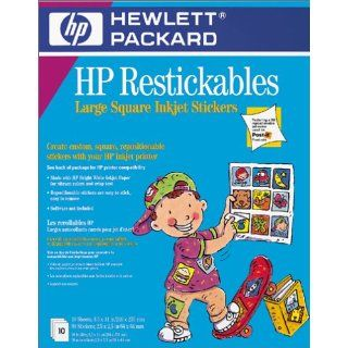 Hewlett Packard C6823A Restickables Large Square Stickers