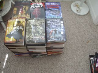 Lot of Science Fiction Fantasy Horror Books Hardcover