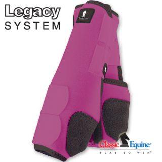 Legacy Boots Pink Front Horse Tack SMB Sport Medicine Boots